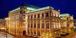 Blick auf Wiener Oper