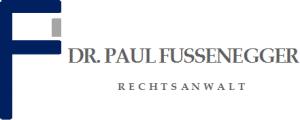 Anwaltskanzlei Dr. Paul Fussenegger Logo