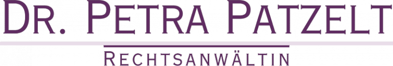 Dr. Petra Patzelt Kanzlei Logo