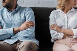 Ehescheidung - Trennung eines Ehepaars