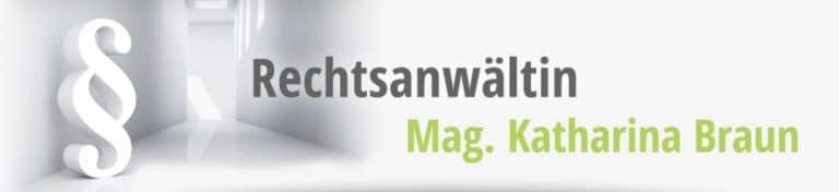 Rechtsanwältin Mag. Katharina Braun Logo