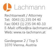 Dr. Josef Lachmann 1070 Wien Logo