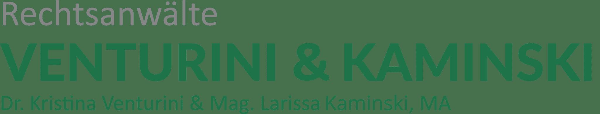 Dr. Venturini und Mag. Kaminski Logo
