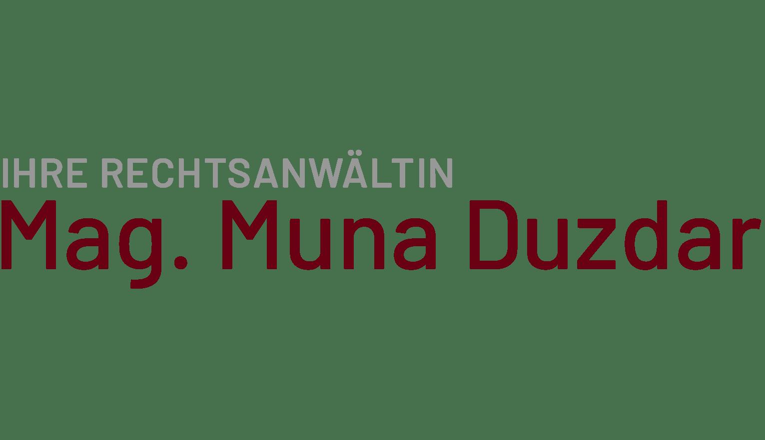 Mag. Muna Duzdar 1080 Wien Logo